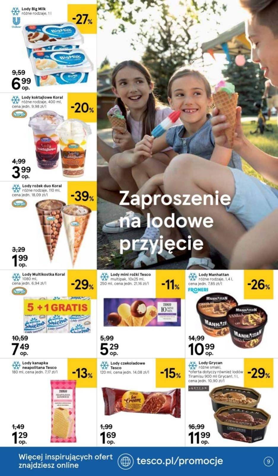 Gazetka promocyjna Tesco do 24/07/2019 str.9