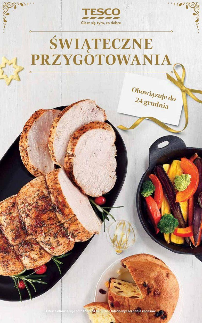 Gazetka promocyjna Tesco do 24/12/2017 str.0