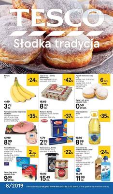 Tesco gazetka - od 21/02/2019 do 27/02/2019
