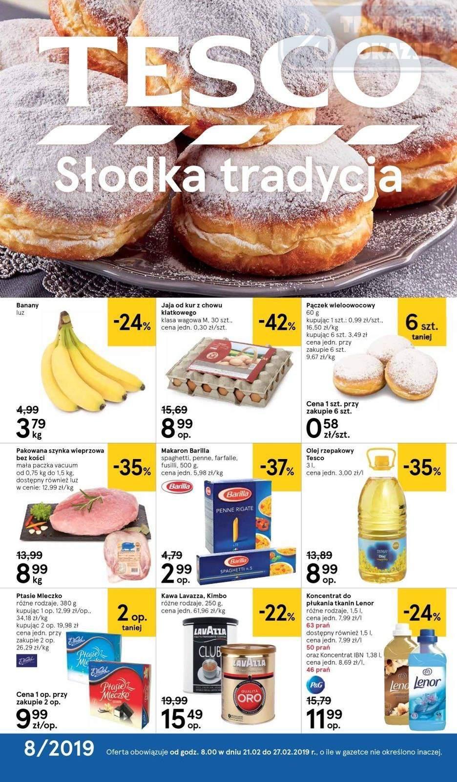 Gazetka promocyjna Tesco do 27/02/2019 str.0