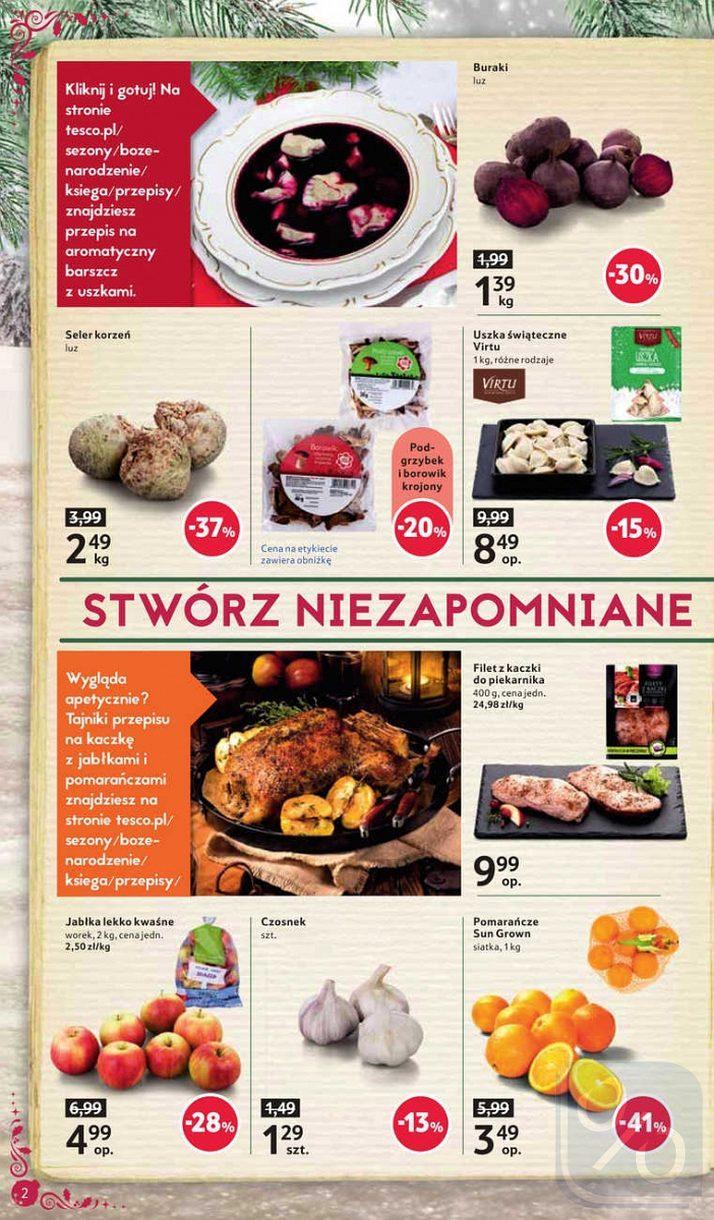 Gazetka promocyjna Tesco do 24/12/2017 str.1