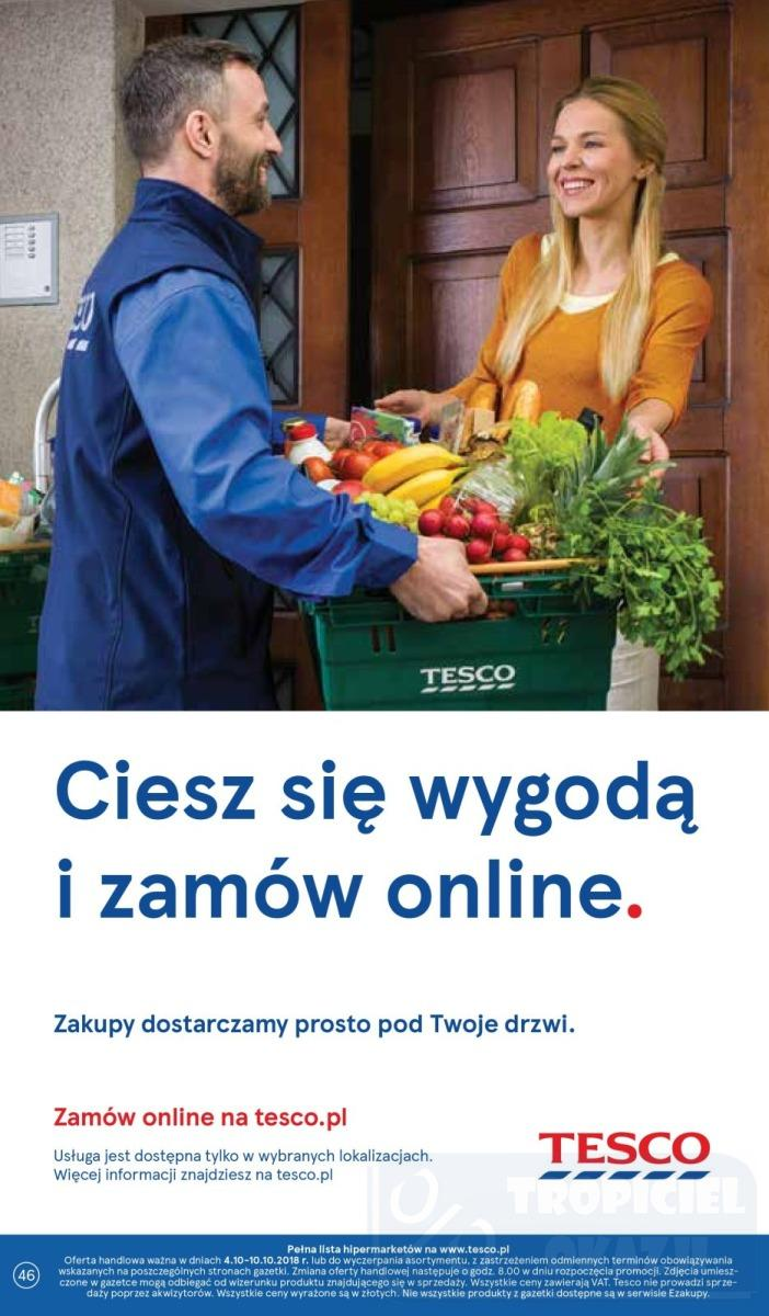 Gazetka promocyjna Tesco do 10/10/2018 str.46