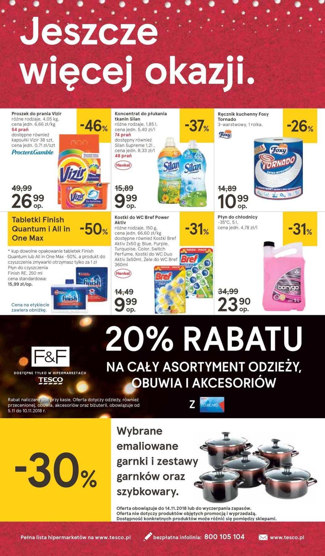 Gazetka promocyjna Tesco do 14/11/2018 str.40