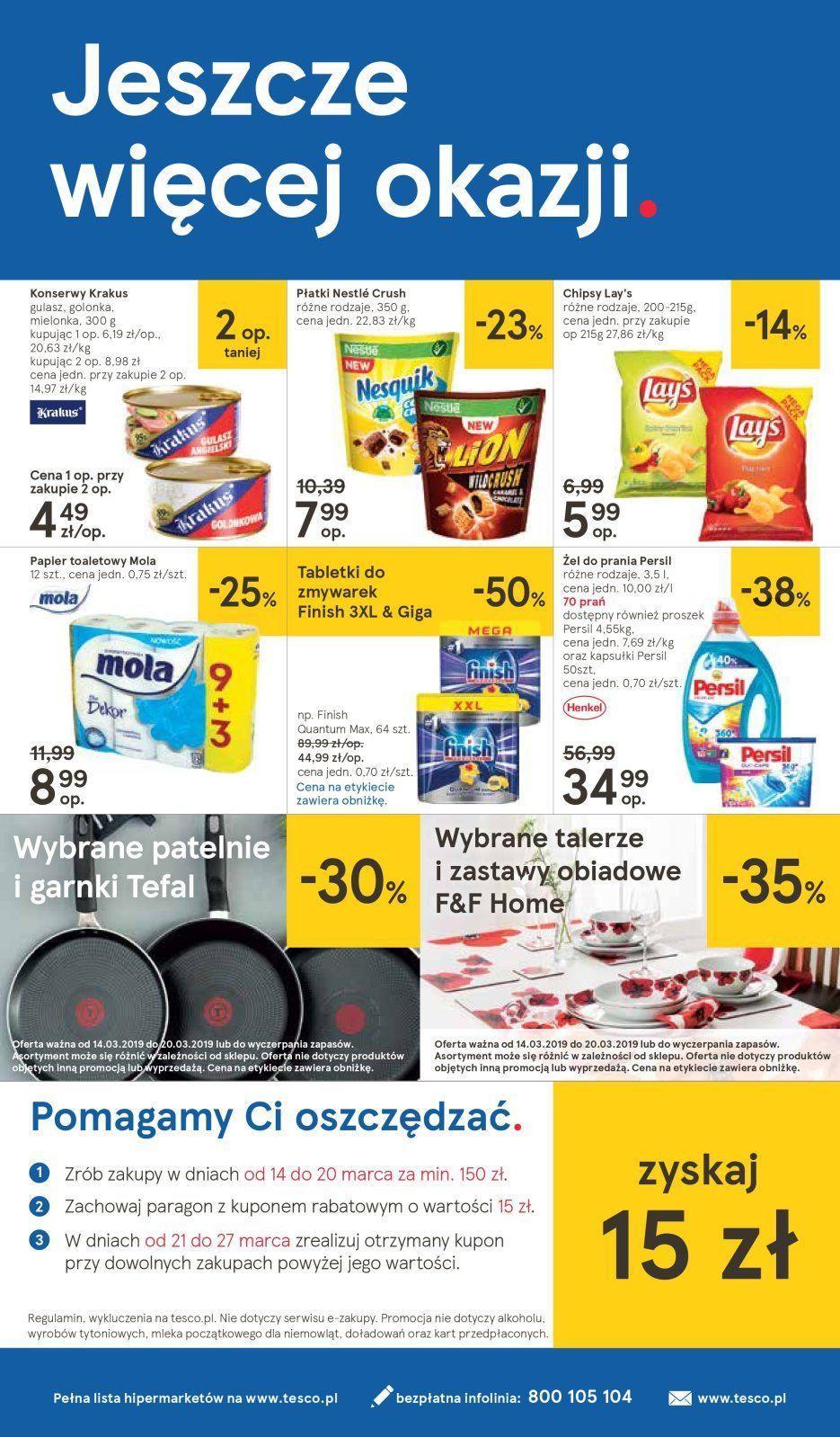 Gazetka promocyjna Tesco do 20/03/2019 str.23