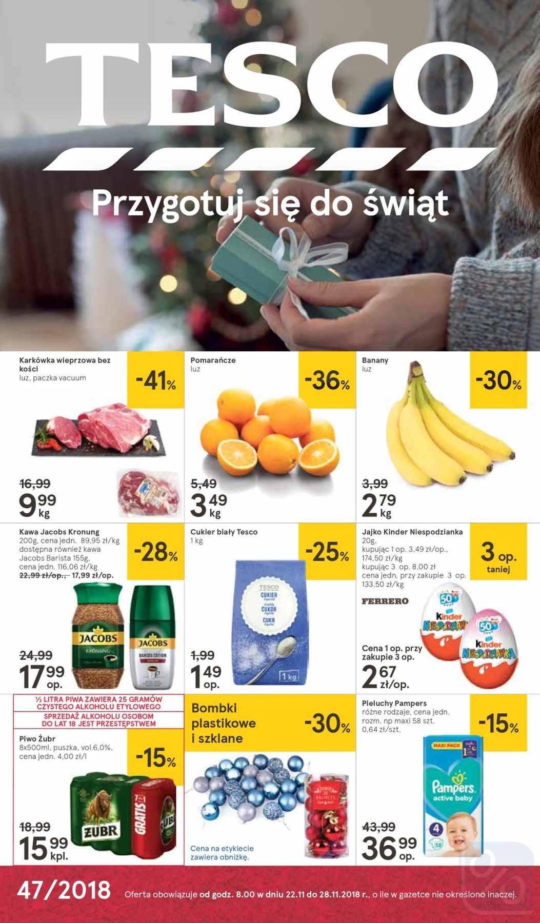 Gazetka promocyjna Tesco do 28/11/2018 str.0