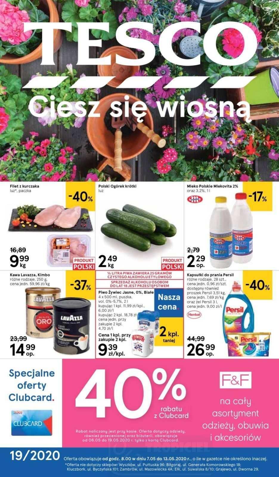 Gazetka promocyjna Tesco do 13/05/2020 str.0