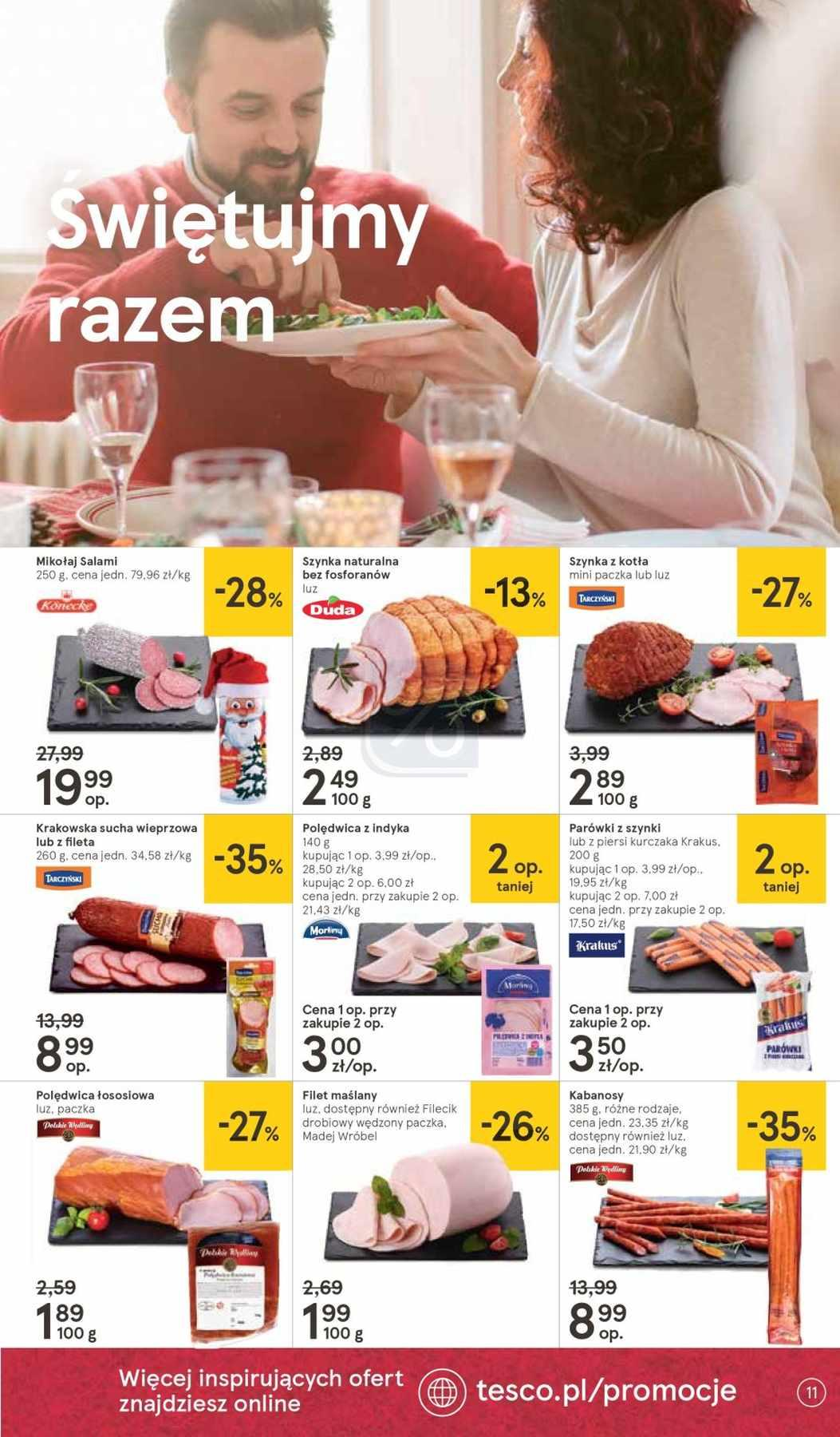 Gazetka promocyjna Tesco do 12/12/2018 str.11