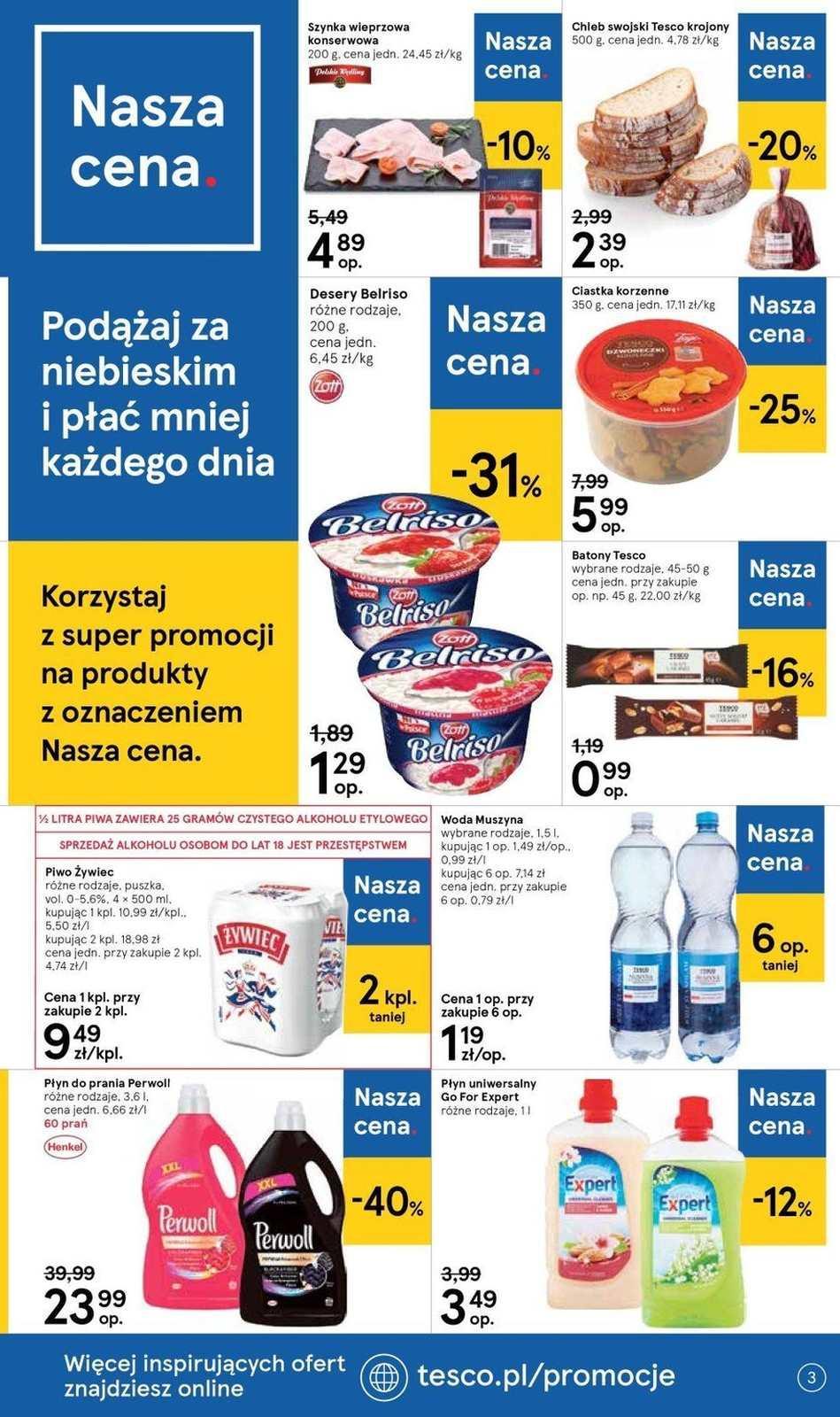 Gazetka promocyjna Tesco do 04/09/2019 str.3