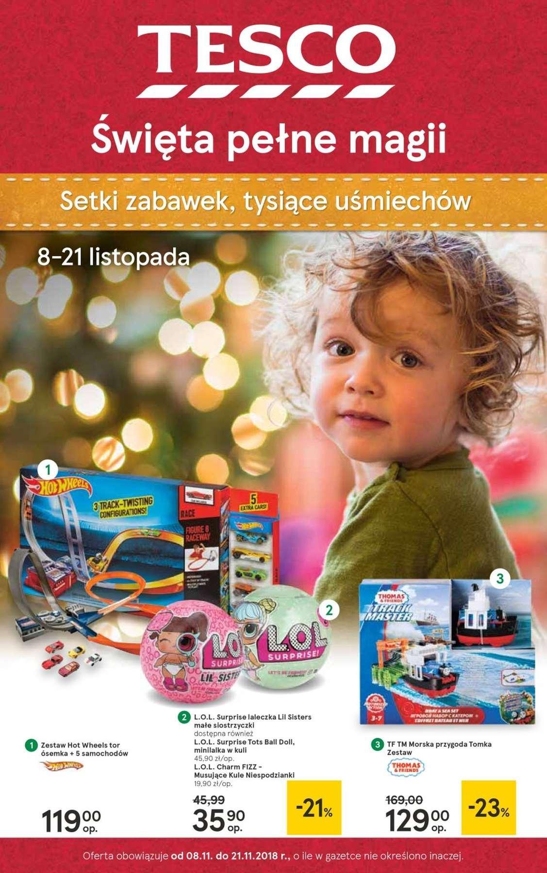 Gazetka promocyjna Tesco do 21/11/2018 str.0