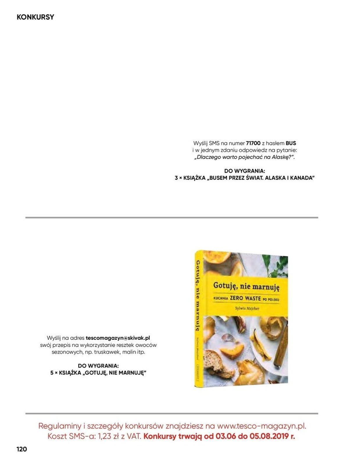 Gazetka promocyjna Tesco do 25/08/2019 str.120