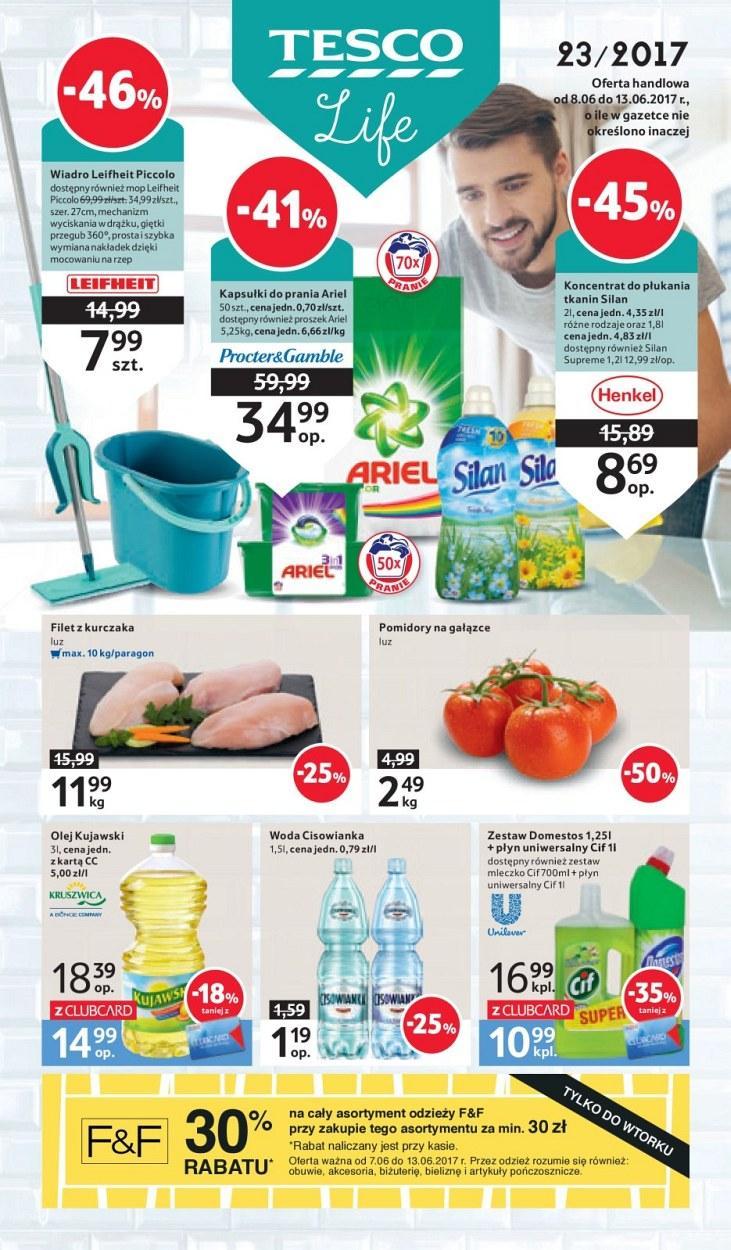 Gazetka promocyjna Tesco do 13/06/2017 str.0