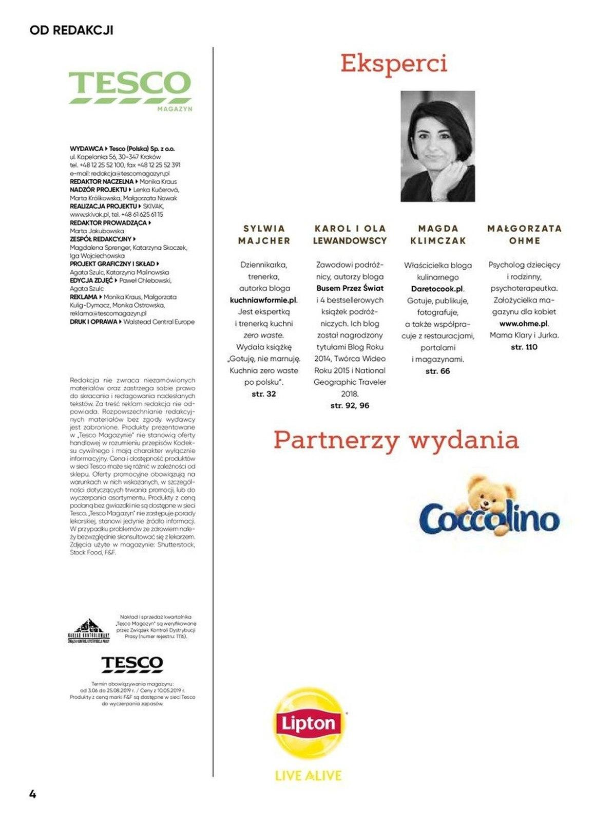 Gazetka promocyjna Tesco do 25/08/2019 str.4