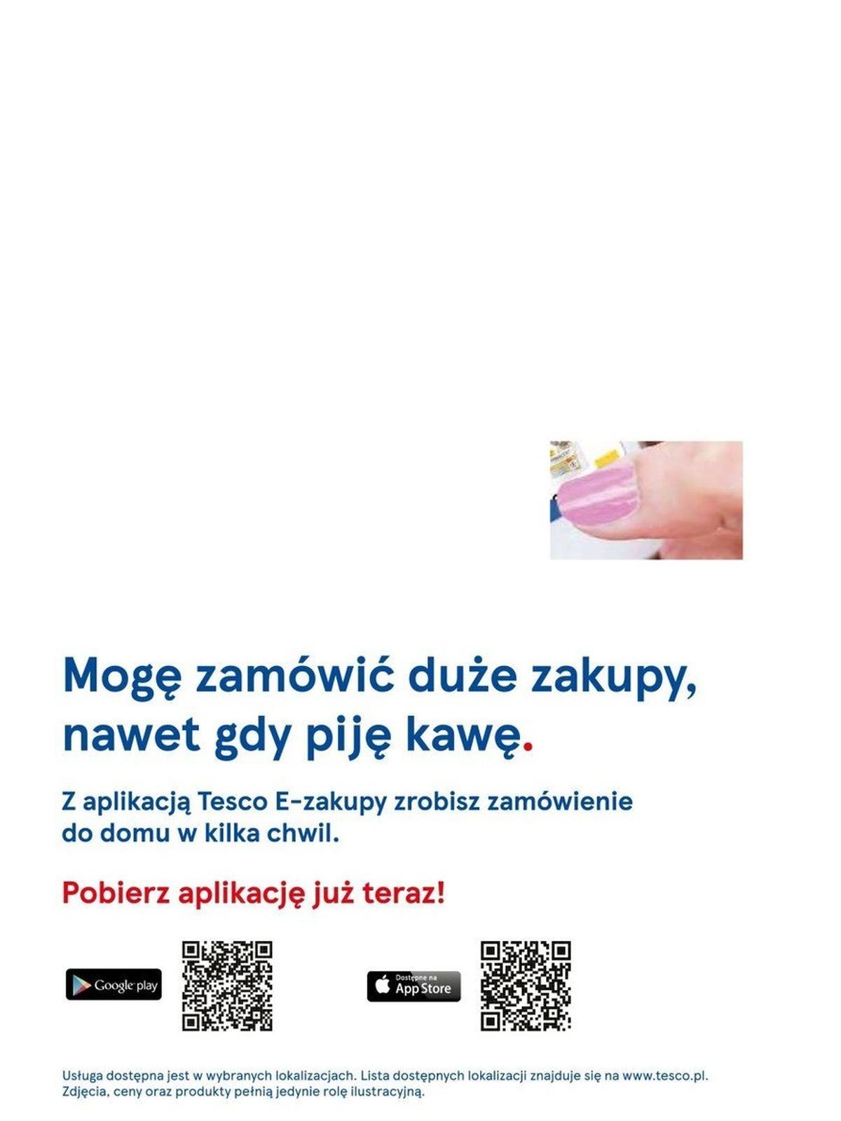 Gazetka promocyjna Tesco do 25/08/2019 str.123