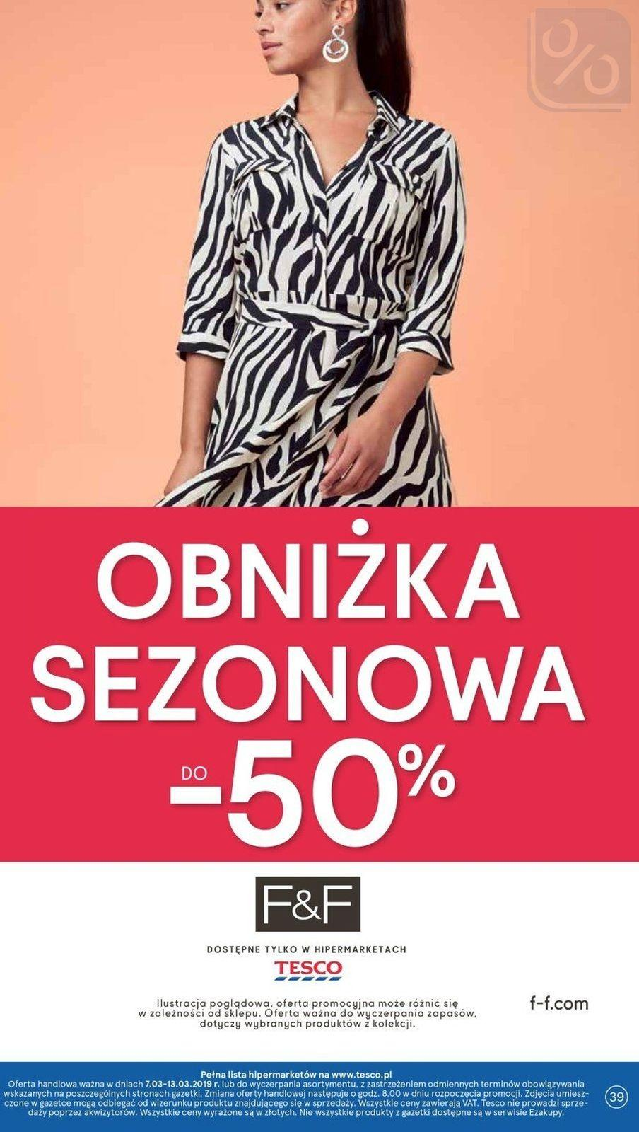 Gazetka promocyjna Tesco do 13/03/2019 str.38