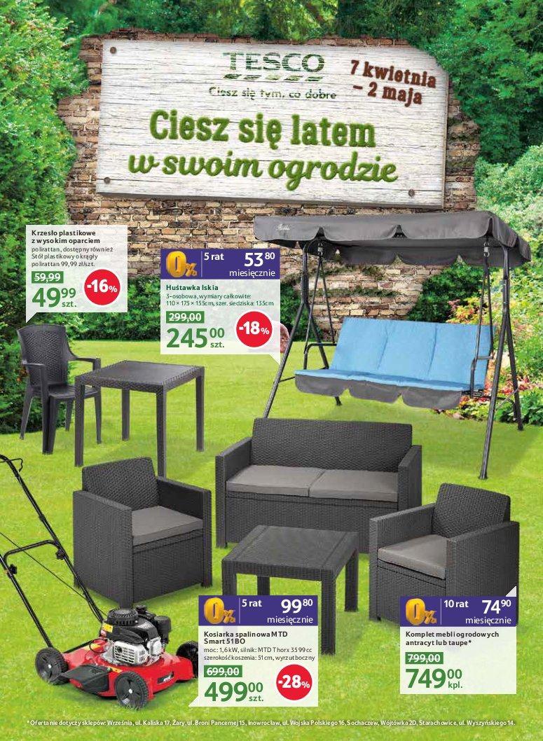 Gazetka promocyjna Tesco do 02/05/2017 str.0