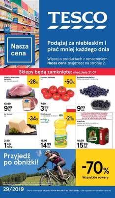 Tesco gazetka - od 18/07/2019 do 24/07/2019