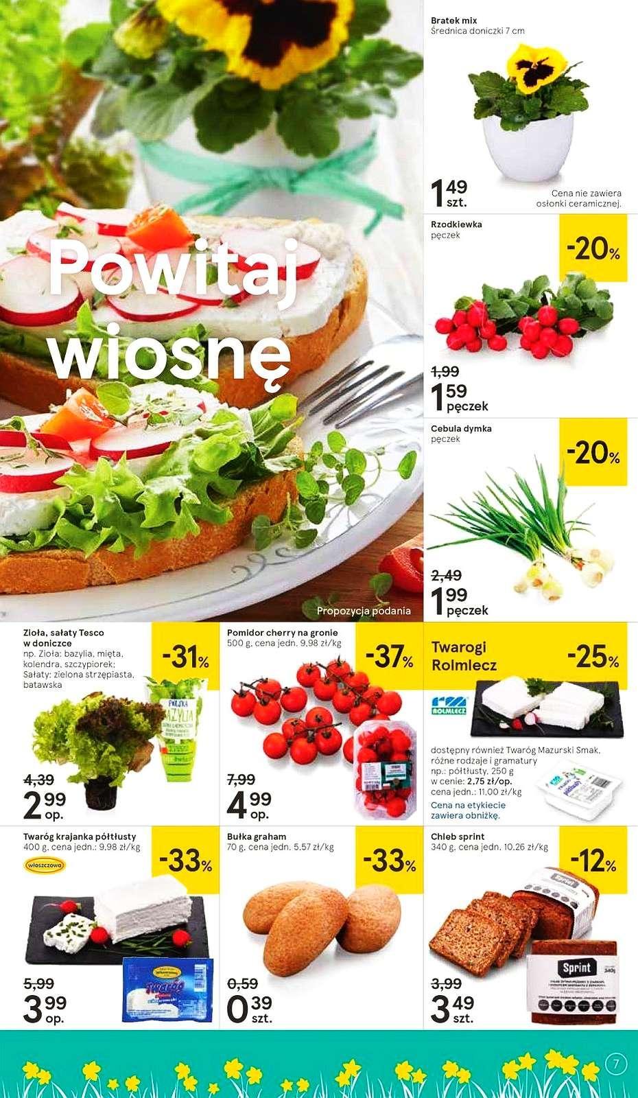 Gazetka promocyjna Tesco do 27/03/2019 str.6