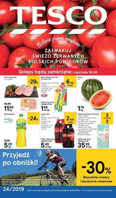 Tesco gazetka - od 13/06/2019 do 19/06/2019