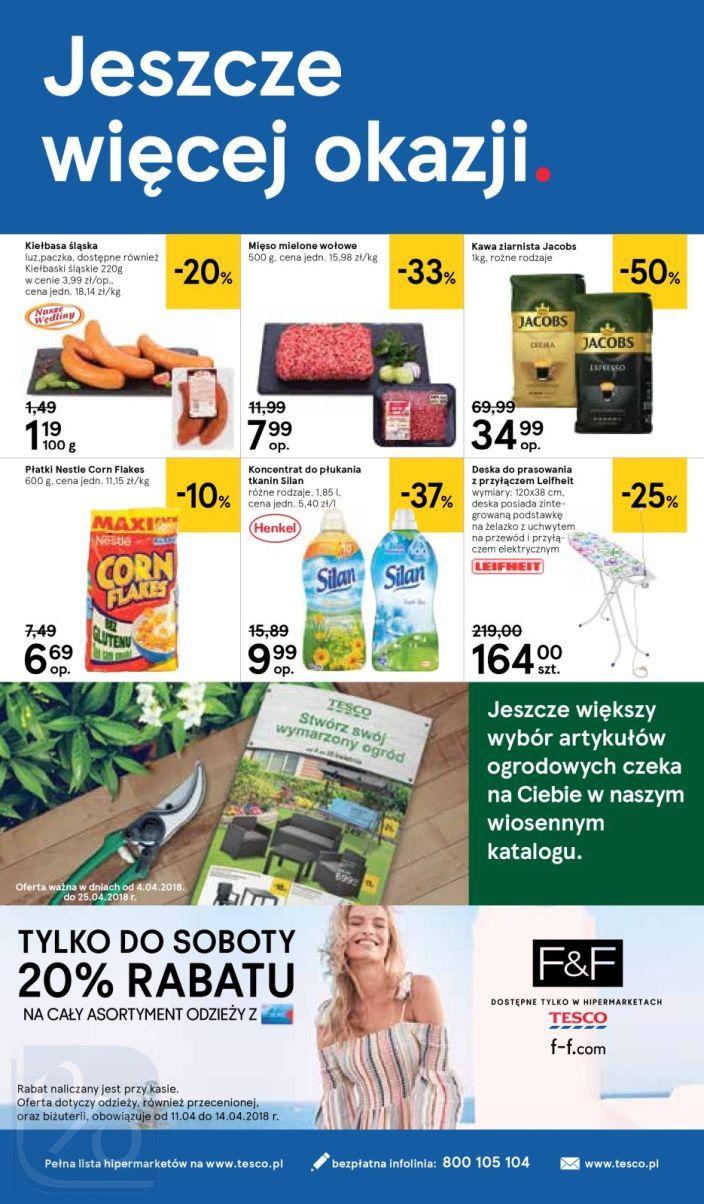 Gazetka promocyjna Tesco do 18/04/2018 str.31