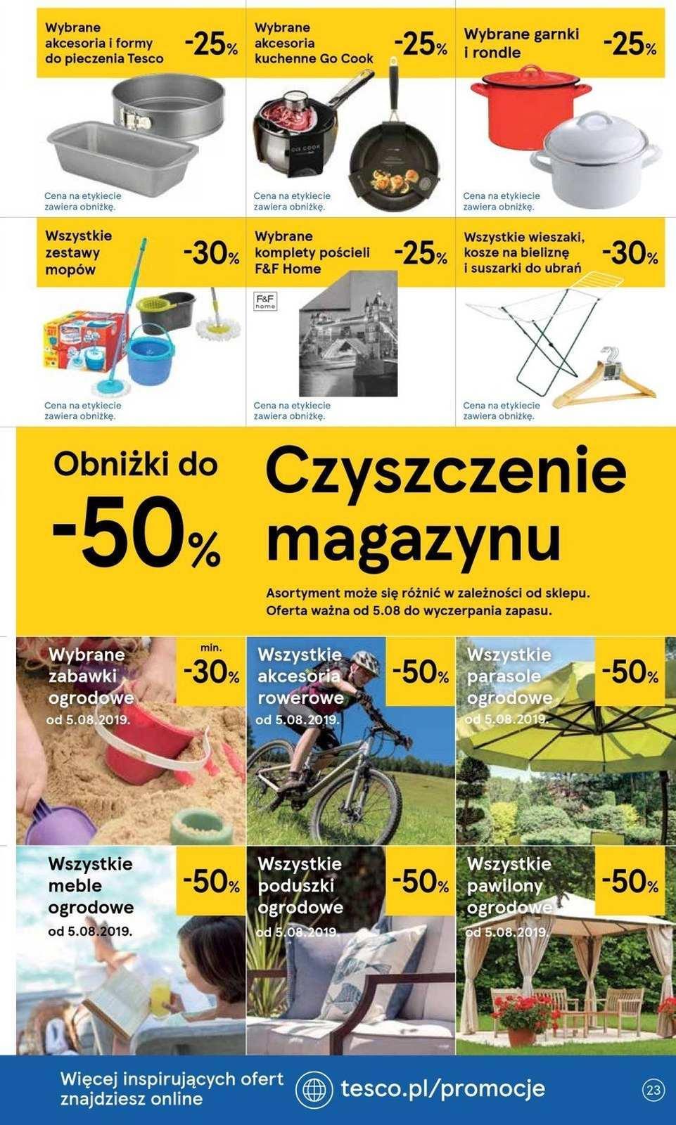Gazetka promocyjna Tesco do 14/08/2019 str.22