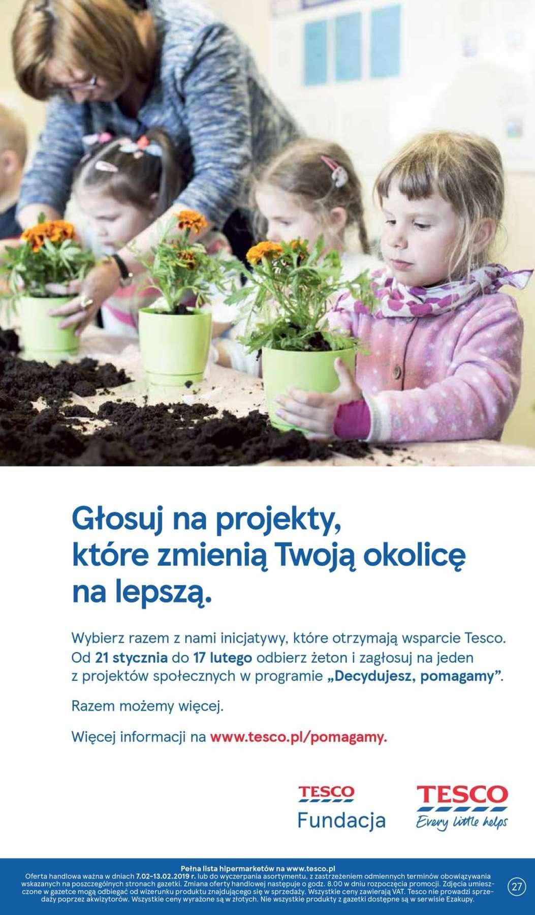 Gazetka promocyjna Tesco do 13/02/2019 str.26
