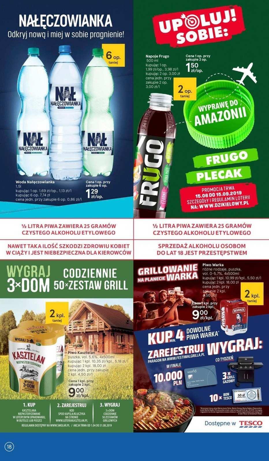 Gazetka promocyjna Tesco do 03/07/2019 str.17