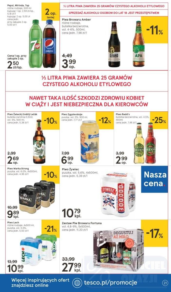 Gazetka promocyjna Tesco do 10/10/2018 str.21