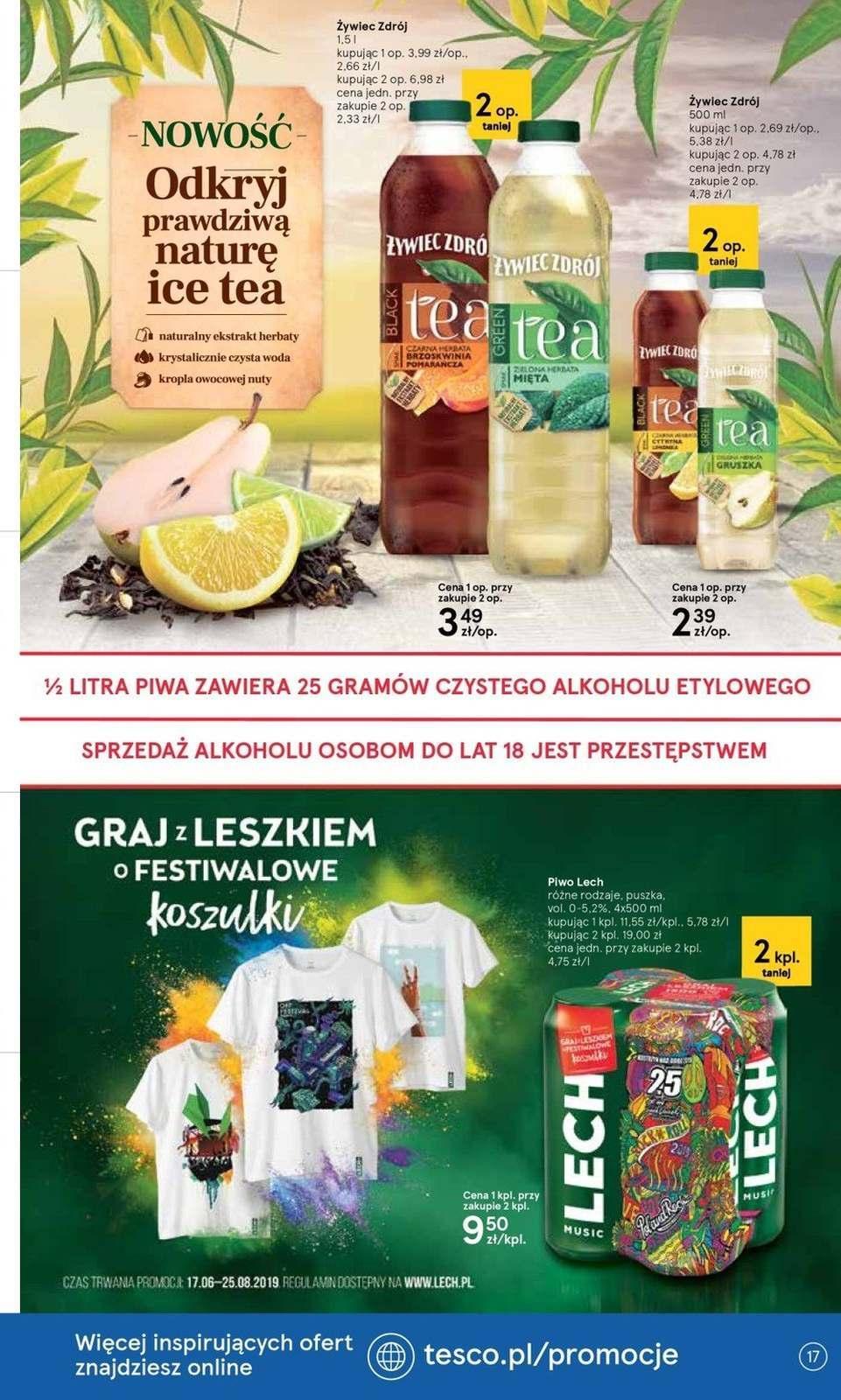 Gazetka promocyjna Tesco do 14/08/2019 str.17