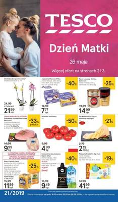 Tesco gazetka - od 23/05/2019 do 29/05/2019