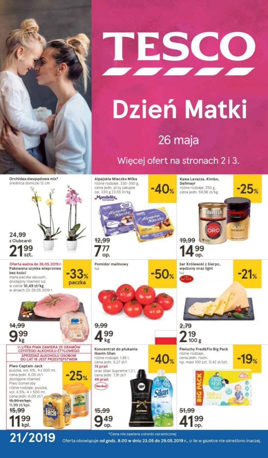 Gazetka promocyjna Tesco do 29/05/2019 str.0