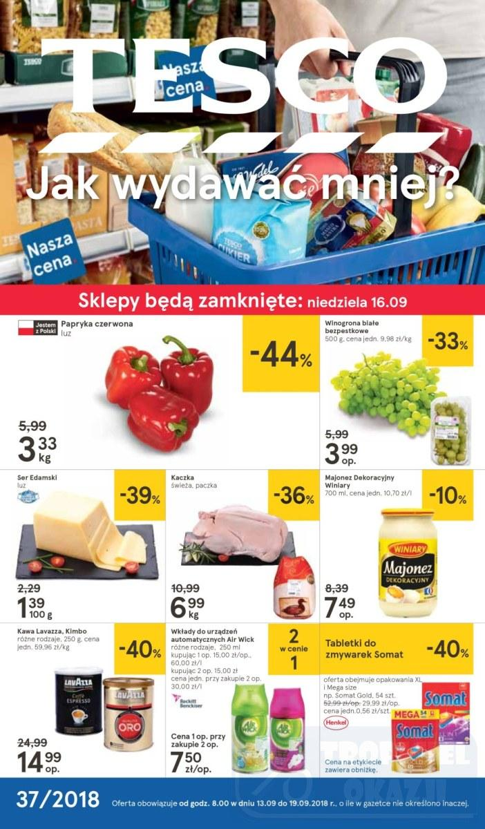 Gazetka promocyjna Tesco do 19/09/2018 str.0