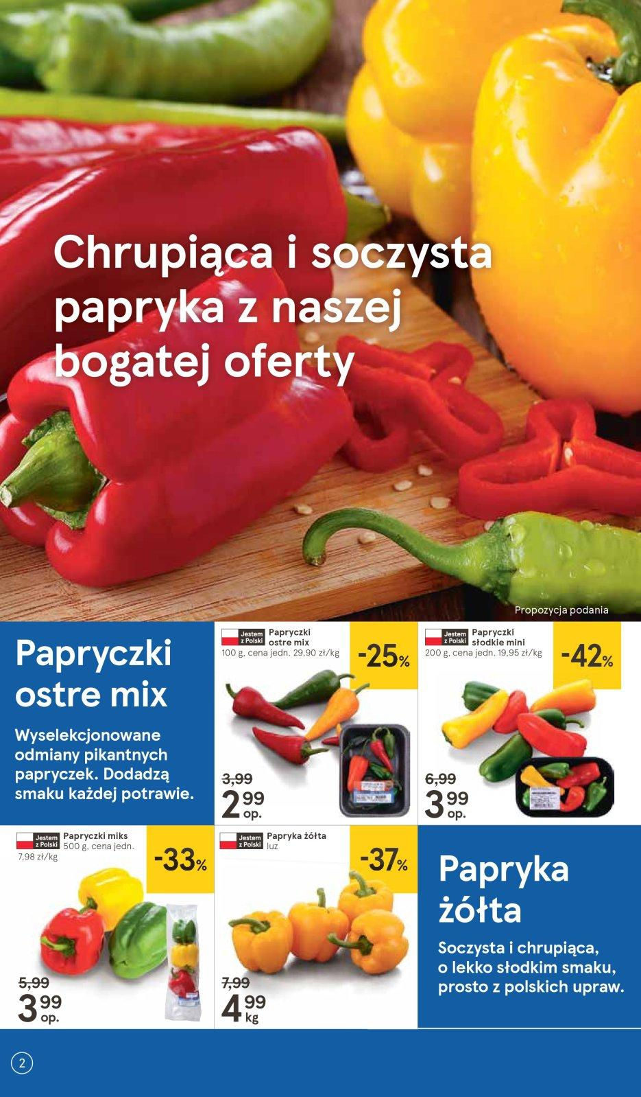 Gazetka promocyjna Tesco do 15/08/2018 str.2