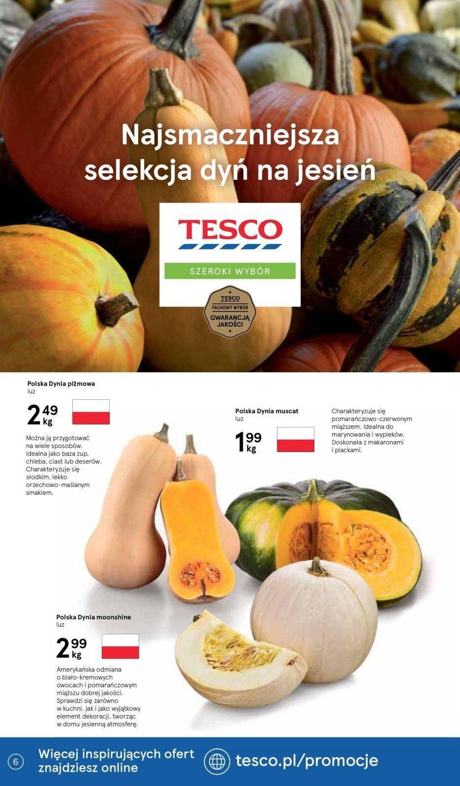 Gazetka promocyjna Tesco do 16/10/2019 str.6