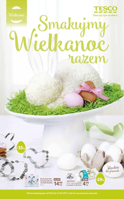 Gazetka promocyjna Tesco do 15/04/2017 str.0