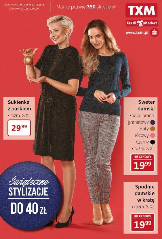 Gazetka promocyjna Textil Market do 11/12/2018 str.1