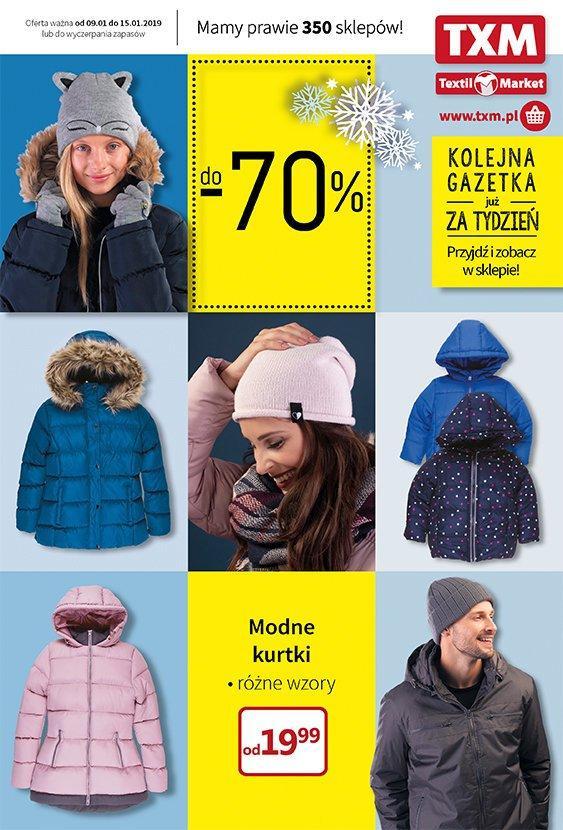 Gazetka promocyjna Textil Market do 15/01/2019 str.1