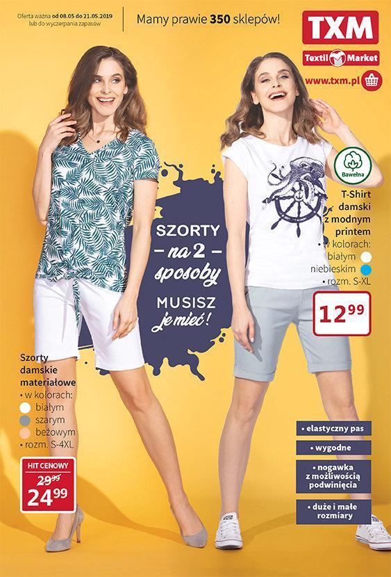 Gazetka promocyjna Textil Market do 21/05/2019 str.1