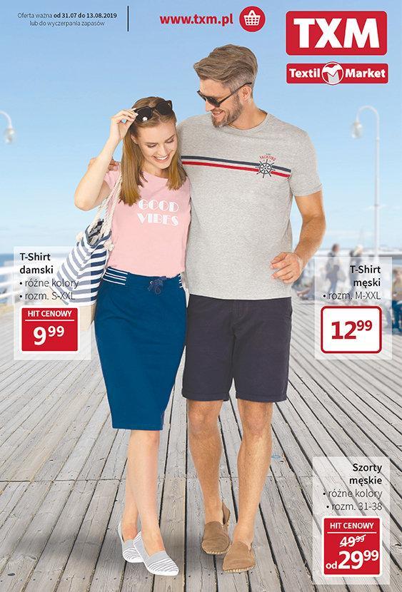 Gazetka promocyjna Textil Market do 13/08/2019 str.0