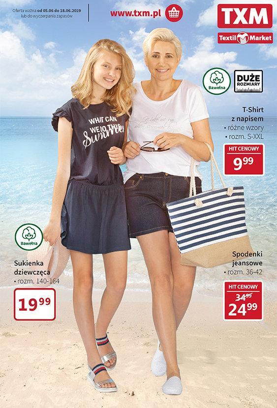 Gazetka promocyjna Textil Market do 18/06/2019 str.0