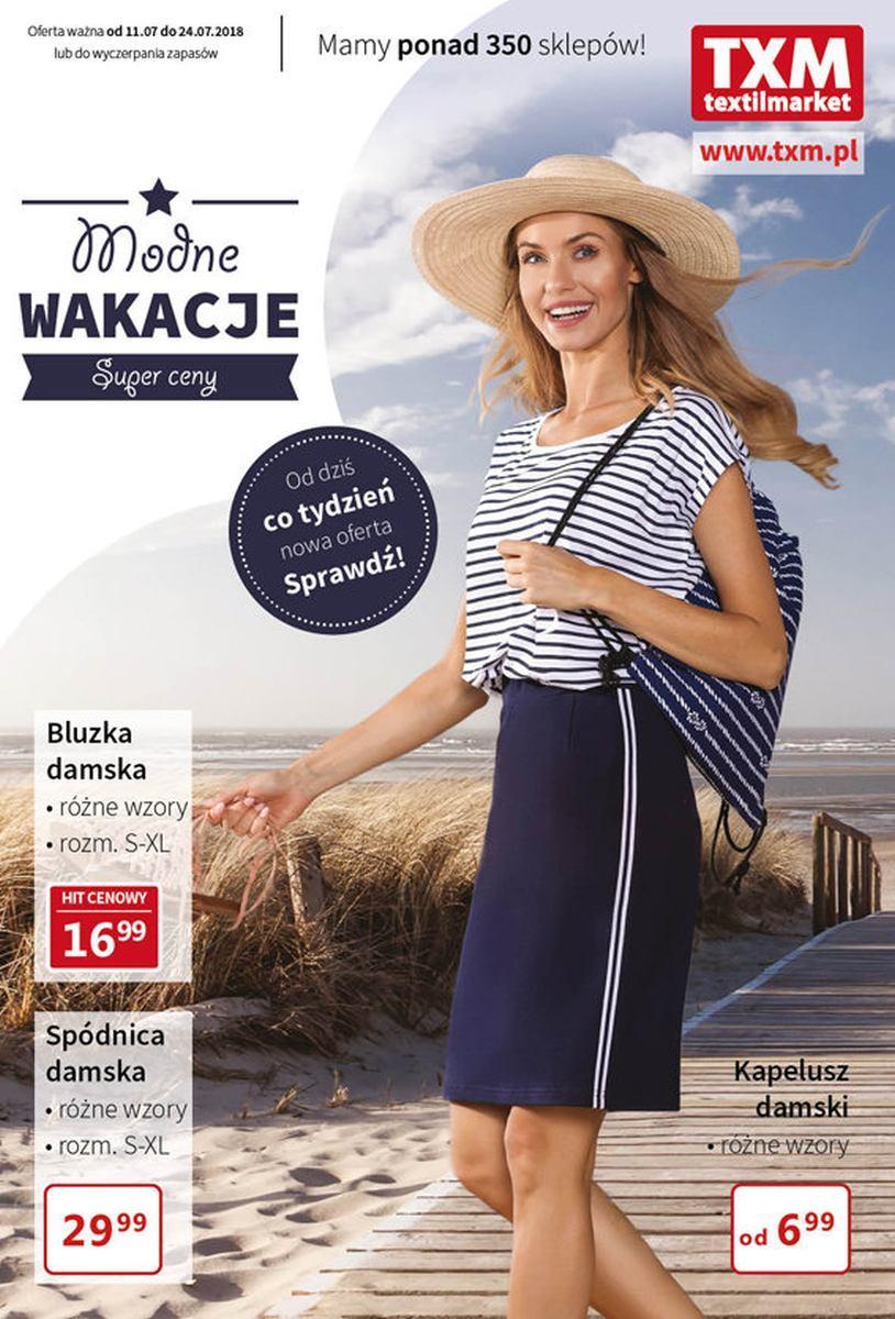 Gazetka promocyjna Textil Market do 24/07/2018 str.0