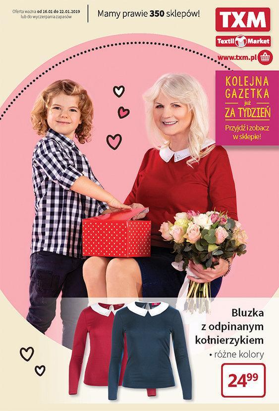 Gazetka promocyjna Textil Market do 22/01/2019 str.0