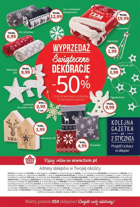 Gazetka promocyjna Textil Market do 02/01/2019 str.6