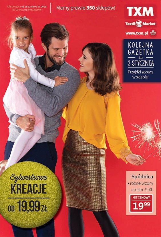 Gazetka promocyjna Textil Market do 02/01/2019 str.1