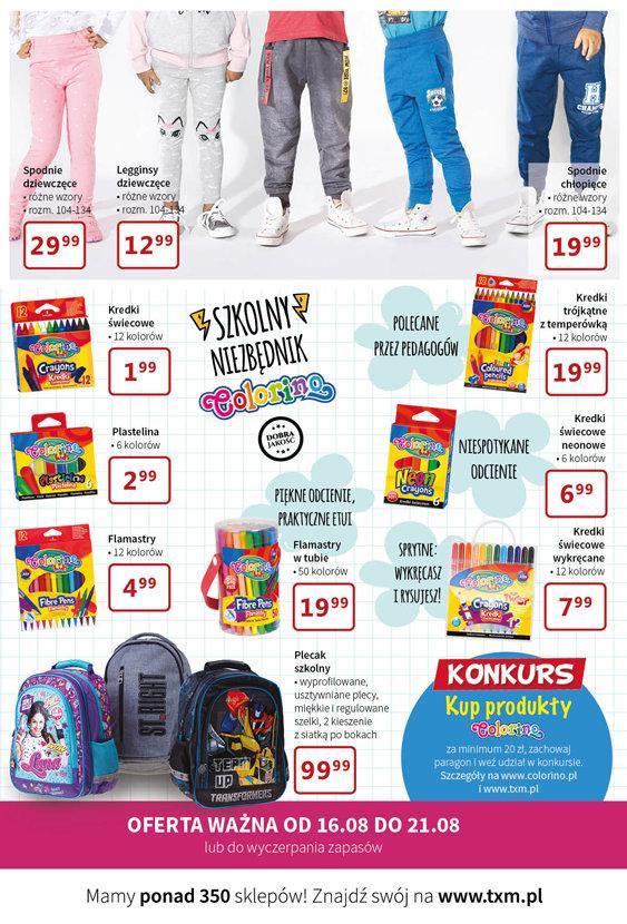 Gazetka promocyjna Textil Market do 21/08/2018 str.3