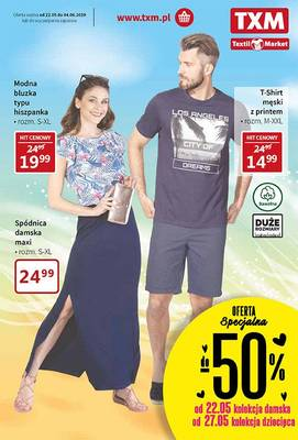 Textil Market gazetka - od 22/05/2019 do 04/06/2019