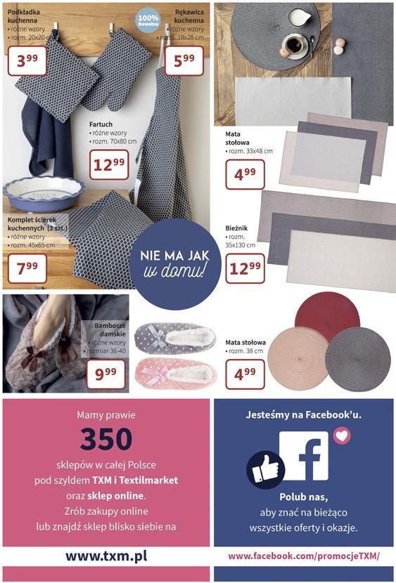 Gazetka promocyjna Textil Market do 16/10/2018 str.7