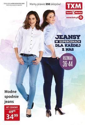 Jeansy w supercenach