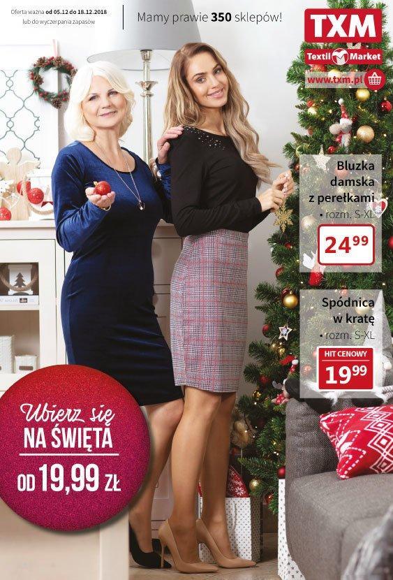 Gazetka promocyjna Textil Market do 18/12/2018 str.0