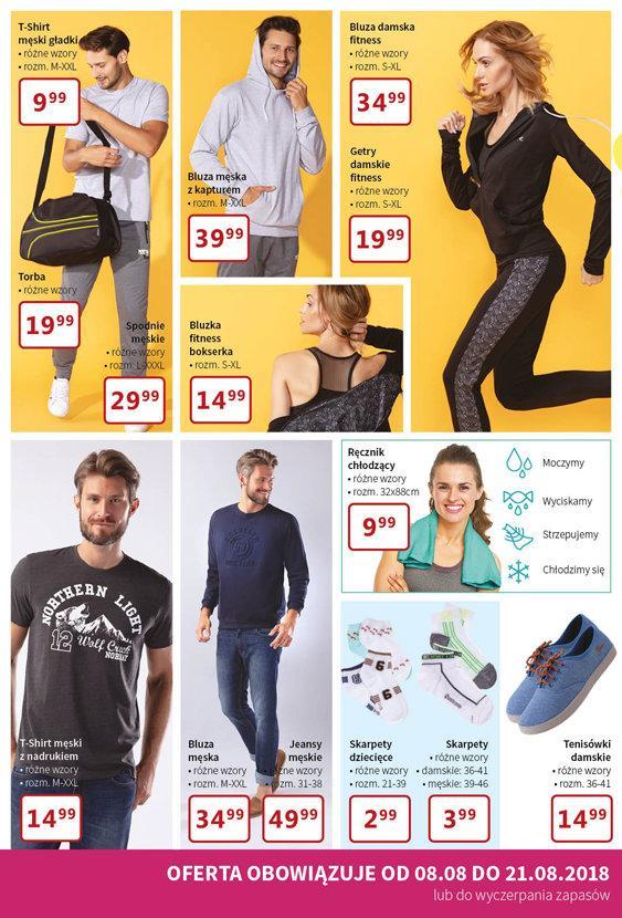 Gazetka promocyjna Textil Market do 21/08/2018 str.1