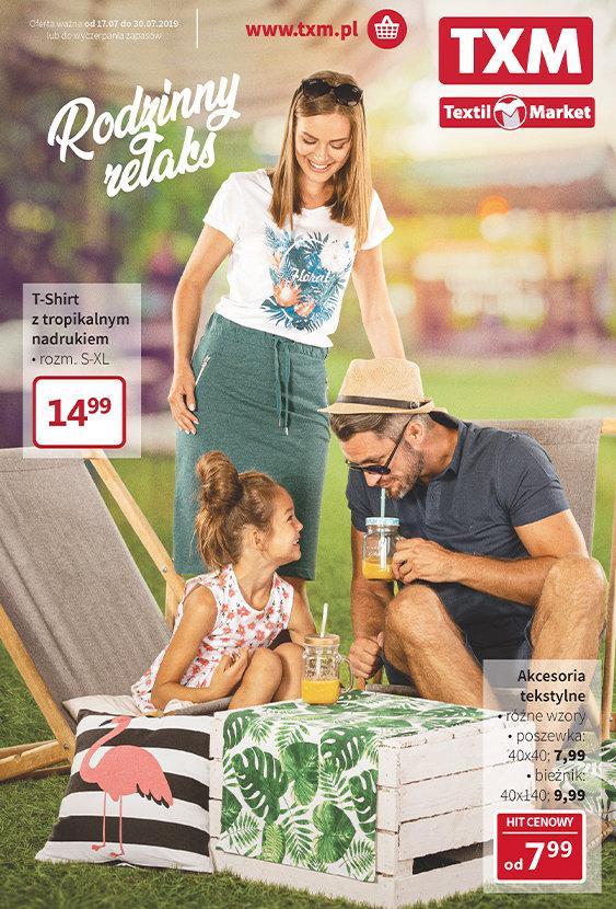 Gazetka promocyjna Textil Market do 30/07/2019 str.0